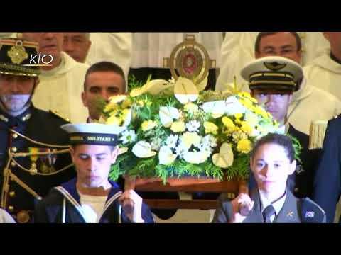 Messe internationale du Pèlerinage Militaire International à Lourdes