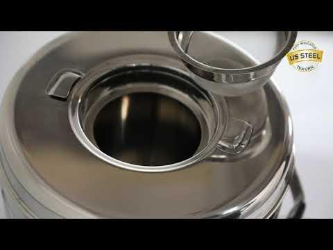 Steel Tea Urn insulated