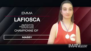 ♦ Emma LAFIOSCA | Championne IDF en Boxe Educative Assaut