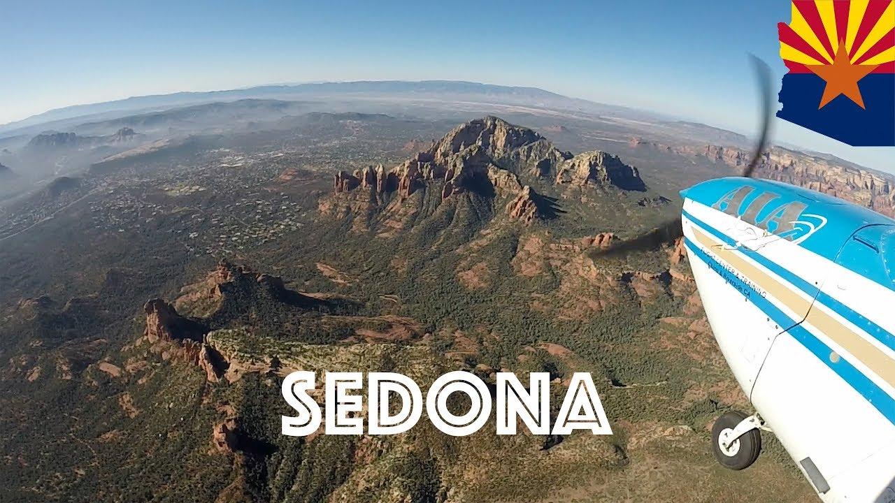 Flying to Sedona Arizona