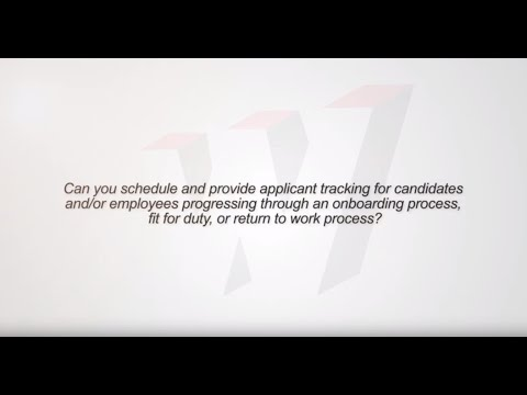 Can you provide applicant tracking for individuals who are starting or returning to work?