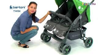 Lorelli Twin iker Babakocsi - Cica #szürke 2019