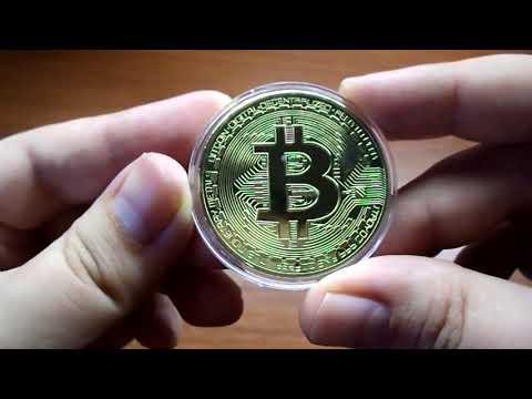 Купить монету биткоин сувенир