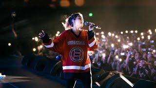 1-800-273-8255 (w/beautiful wife Jess Andrea) - Logic Live @ Bill Graham San Francisco, CA 7-16-17