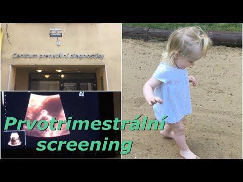 Prvotrimestrální screening | MamaVlog