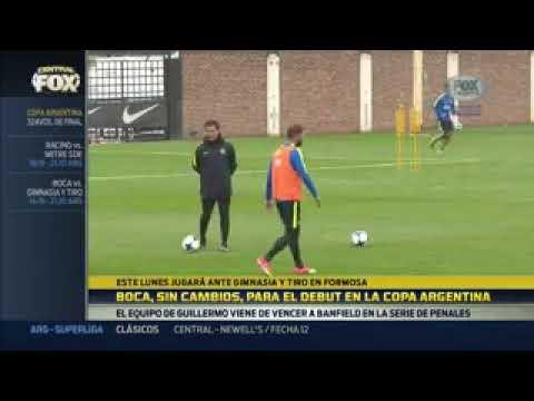 Boca con el mismo equipo para el debut de Copa Argentina