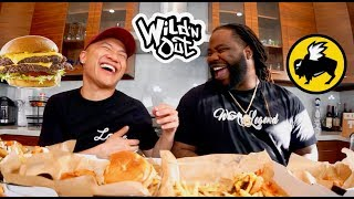 """Why We Got """"Fired"""" From Wild N Out & Show Secrets - Buffalo Wild Wings Muk Bang with Darren Brand"""