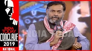 War Is Being Used To Win The 2019 Lok Sabha Elections : Yogendra Yadav | India Today Conclave 2019