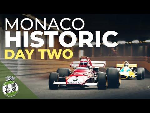 Grand Prix de Monaco Historique 2021:  vince Lyons alla guida di una Hesketh 308 E del 1977