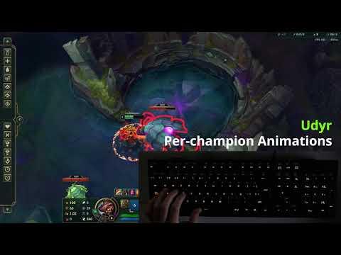 國外網友打造 符合LOL角色的鍵盤LED閃爍(雷蛇 Chroma)