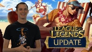 LoL Update 3/15/14 - Lee Sin Champion Changes, LoL Masters, LCS NA & EU Scores & News