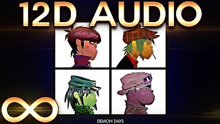 Gorillaz - Feel Good Inc. 🔊12D AUDIO🔊 (Multi-directional)