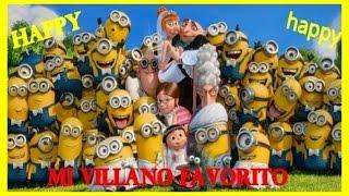 """""""HAPPY""""  Pharrell Williams   Mi Villano Favorito 2"""
