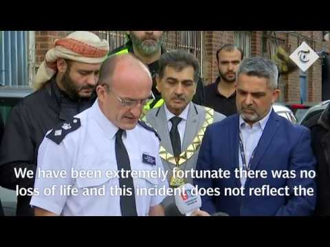 """Extremely fortunate"" no deaths in Mosque attack in London"