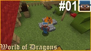 world of dragons minecraft modpack ep 1 - TH-Clip