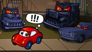 Car Eats Car 2 Хищные машины 2 Машина ест машину игровой мультик видео #КИД