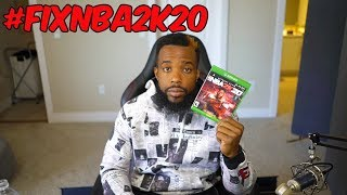 We Need To Talk....#fixnba2k20