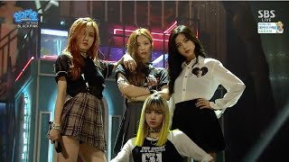 BLACKPINK   '붐바야(BOOMBAYAH)' 0814 SBS Inkigayo