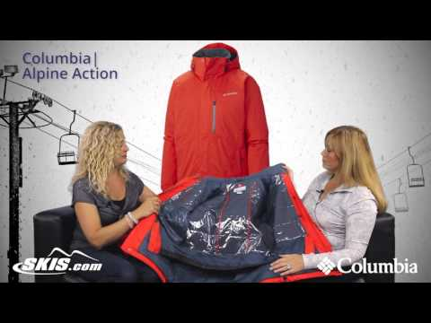 2016 Columbia Alpine Action Mens Jacket Overview by SkisDotCom