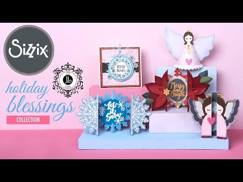 Holiday Blessings by Jen Long | Sizzix