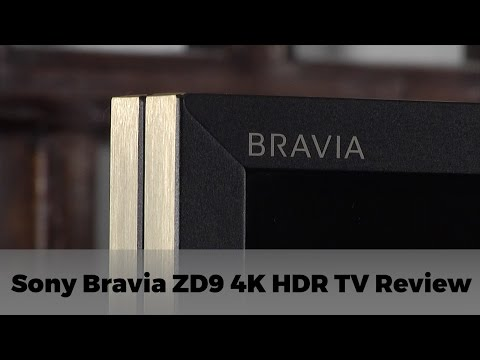 Sony Bravia ZD9 (KD-65ZD9) 4K HDR UHD TV Review