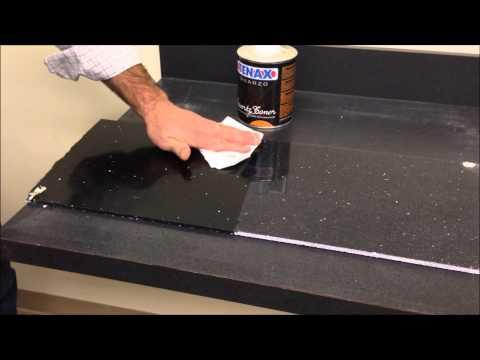 Video Quartz Toner on Black Engineered Stone