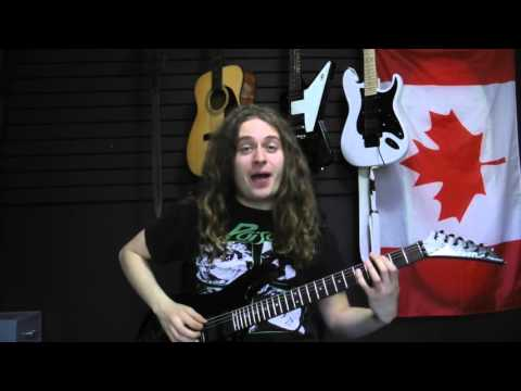 Power Chords Lesson! A Loud Guitar Lesson with THECanadians