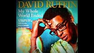 """DAVID RUFFIN -""""MY WHOLE WORLD ENDED (THE MOMENT YOU LEFT ME)""""  [1969]"""
