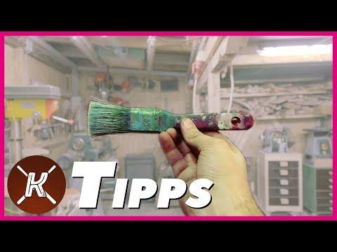 Tipps mit Philipp    Pinsel sauber machen