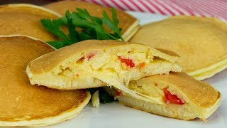 Самая удачная начинка для блинов на кефире - вкусно, просто, креативно! | Appetitno.TV