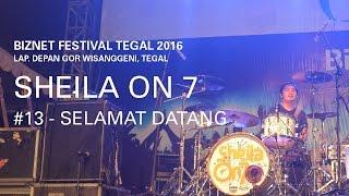 Biznet Festival Tegal 2016 : Sheila On 7 - Selamat Datang