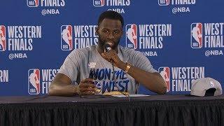 Draymond Green postgame reaction   Warriors vs Blazers Game 4   2019 NBA Playoffs
