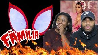 Familia (Spider-Man: Into the Spider-Verse) · Nicki Minaj · Anuel Aa · Bantu   REACTION!!!