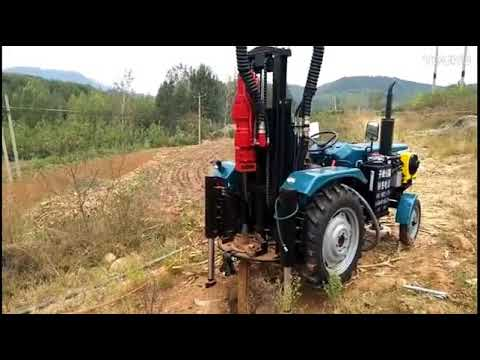 Tractor Mounted Drilling Rig at Best Price in India