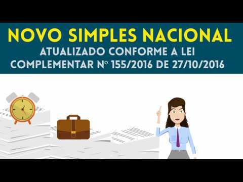 Curso UniFenacon Novo Simples Nacional - Atualizado Conforme a Lei Complementar nº 155/2016