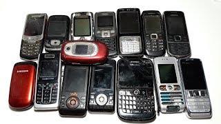 Супер дешевая посылка с аукциона с Nokia E51 , Samsung ,  Sony Ericsson. Ретро телефоны как доноры