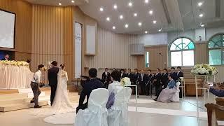"""180609 대구교회 남성중창단 결혼식축가 """"사랑의 종소리"""""""