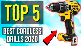✅ TOP 5: Best Cordless Drill 2020