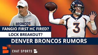 Denver Broncos Rumors: Vic Fangio The First Head Coach Fired? Drew Lock Breakout Candidate In 2021?