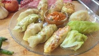 Keto Chicken Dumplings ( Chicken Momo/Dim Sum) | Keto Recipes | Headbanger's Kitchen