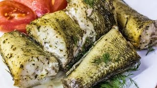 Запеченная рыба |  Baked fish | диетическое блюдо
