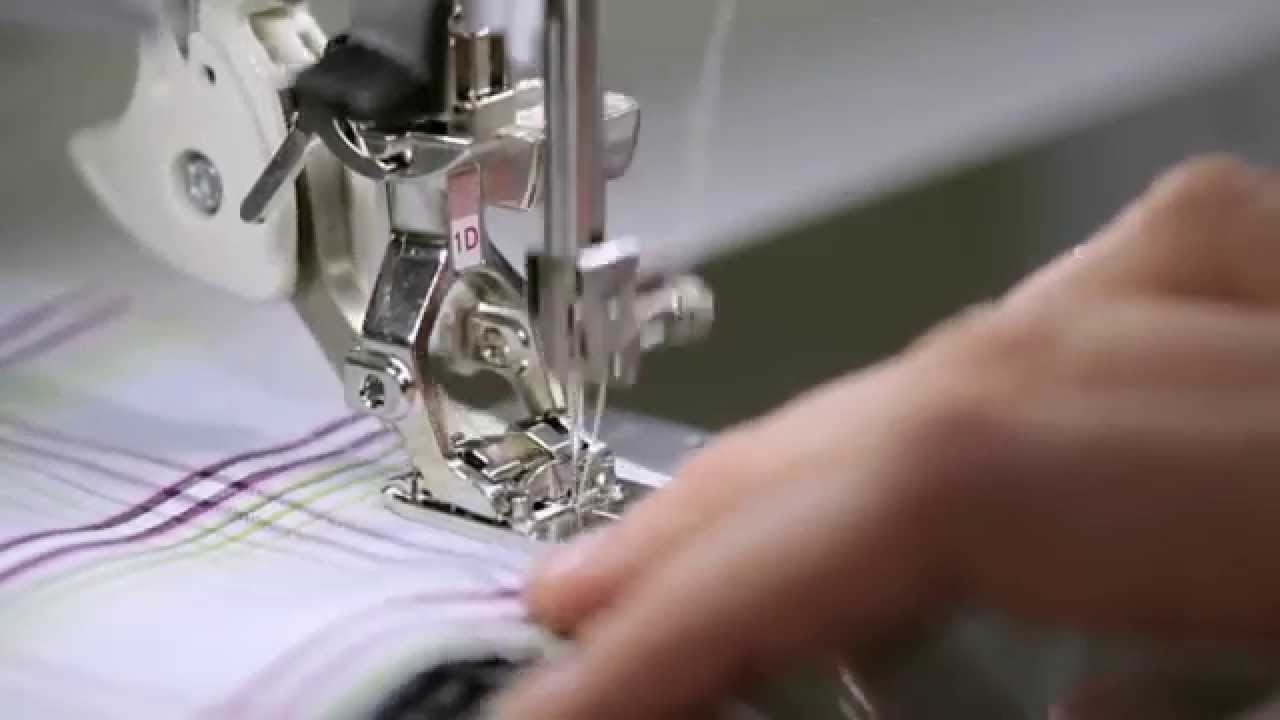 BERNINA 790 PLUS: Sewing with Dual Feed