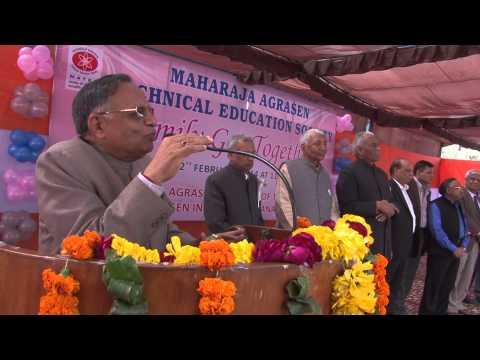 Maharaja Agrasen Institute of Management Studies video cover3