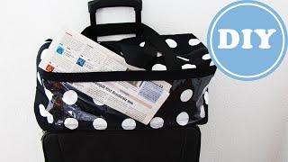 Boxbag als Koffertasche zum Aufsetzen nähen| DIY | IKEA - Stoff