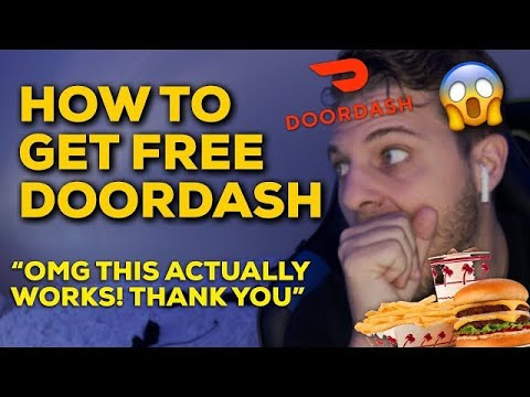 How To Get Free Food From DoorDash *NOVEMBER 2020 100% WORKING!*