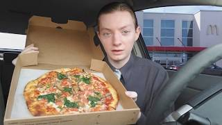 Vegetarian Pizza from McDonald's is not a Myth - Video Youtube