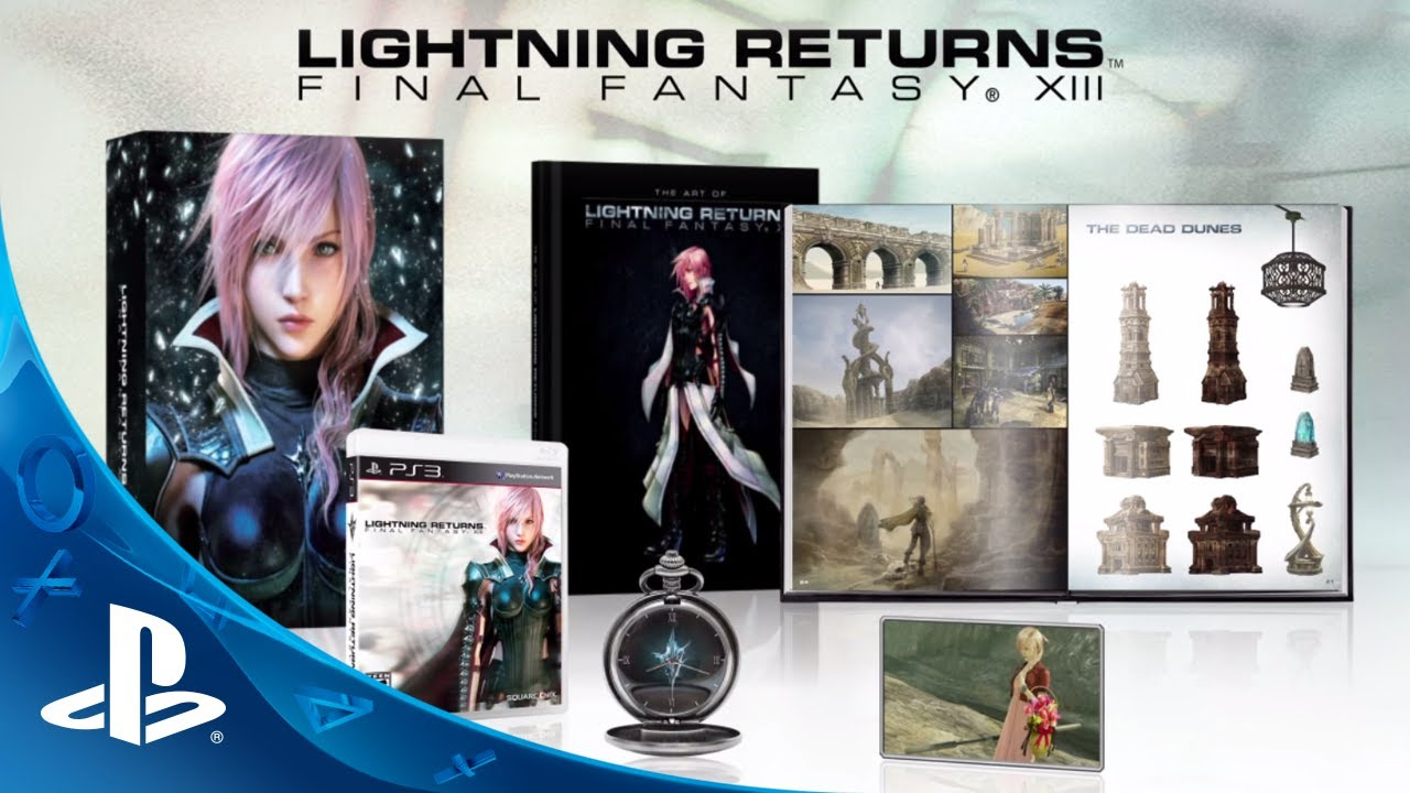 Lightning Returns: Final Fantasy XIII Collector's Edition Revealed
