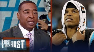 Cris Carter reacts to Panthers loss to the Saints on Monday night | NFL | FIRST THINGS FIRST