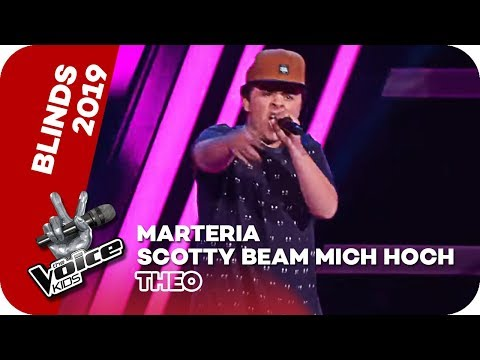 Marteria - Scotty Beam Mich Hoch (Theodor) | Blind Auditions | The Voice Kids | SAT.1