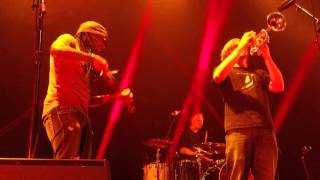 Crystal Garden jamming with Boyd Tinsley, Jefferson Theater